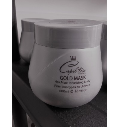 Masque poudre d'or GOLD